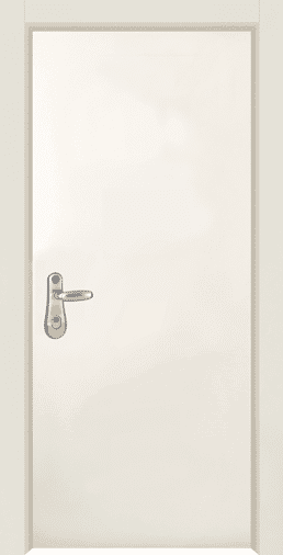 דלת כניסה Basic 2020 צבועה תנור