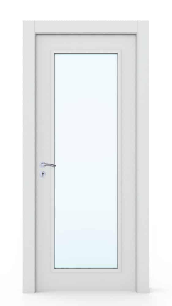 INHOUSE 215 דלת פנים עם חלון ארוך